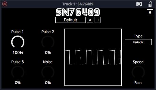 SN76489 émulation vst plugin gratuit
